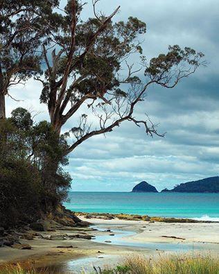Bruny Island, Tasmania, Australia.