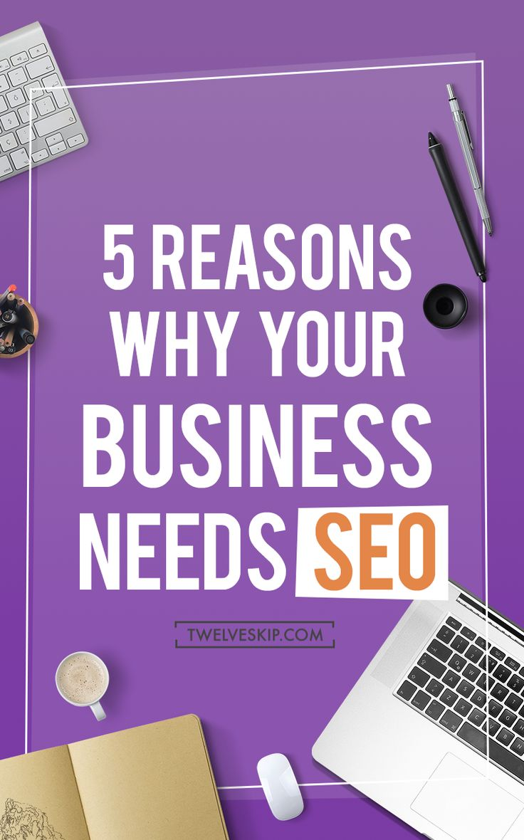 5 Awesome Reasons Why Your Business Needs SEO http://www.twelveskip.com/marketing/seo/1421/business-seo RT @Twelveskip #SEO #business #marketing