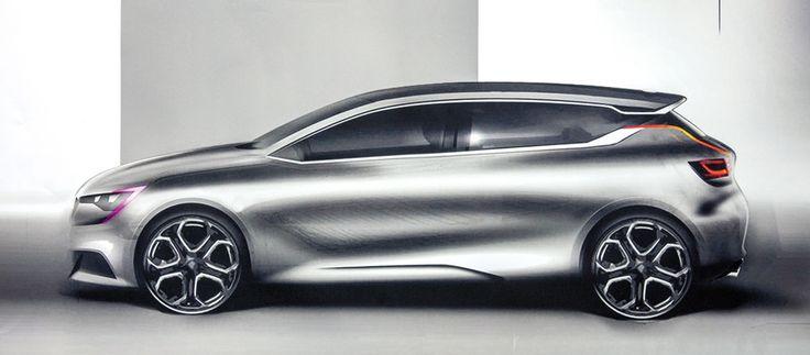 RENAULT MEGANE 2016, COERENZA FORMALE - Auto&Design