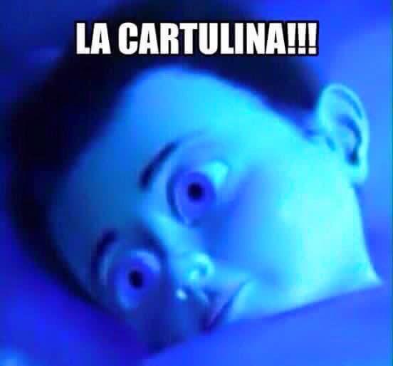 La cartulina..!! #MemesMexicanos