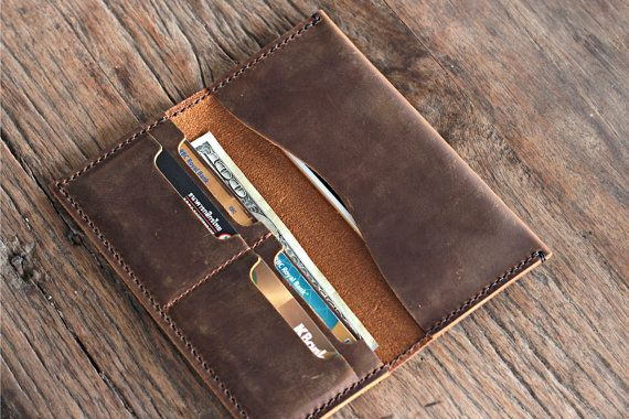 iPhone 6 PLUS Wallet Clutch Case Leather iPhone by JooJoobs