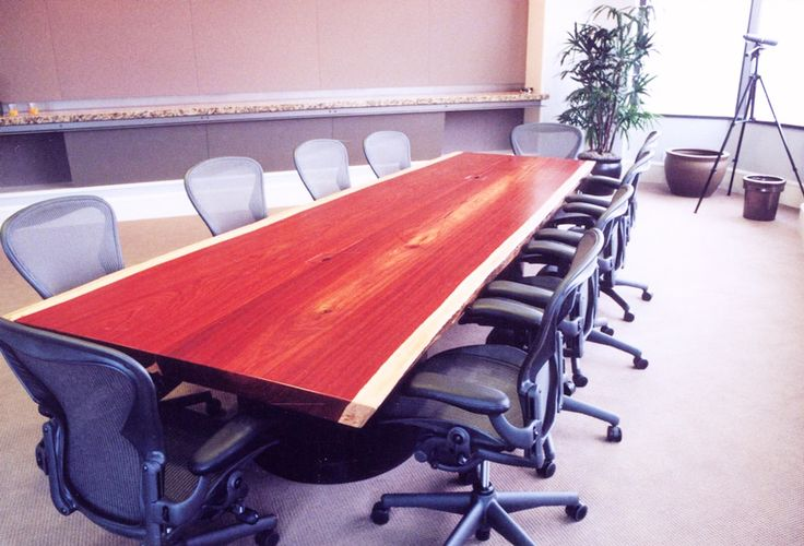 padouk conference table