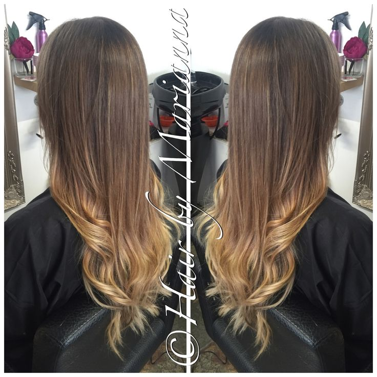 Sunkissed natural looking balayage Hair By Marianna
