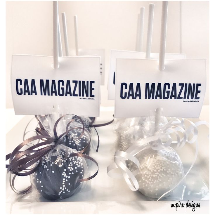 Simple and chic❣️Contact us for your next corporate event! #cakepops #cake #ediblefavors #treats #giveaways #custom #personalize #corporate #events #birthdays #babyshower #bridalshower #weddings #anniversary #cakepopsofinstagram #etsy #etsyseller #etsysellersofinstagram #favors #caa #caasco #caamagazine #toronto #instablog #mpiredesigns