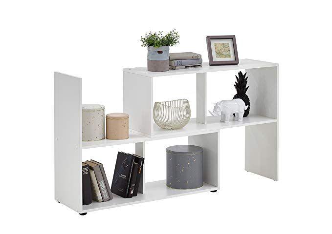 Unbekannt FMD Möbel 264-100 Stretch 100 Regal, Holz, weiß, 947 x 33
