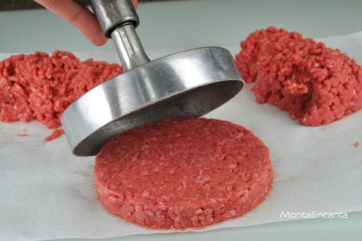 Hambúrguer casaeiro