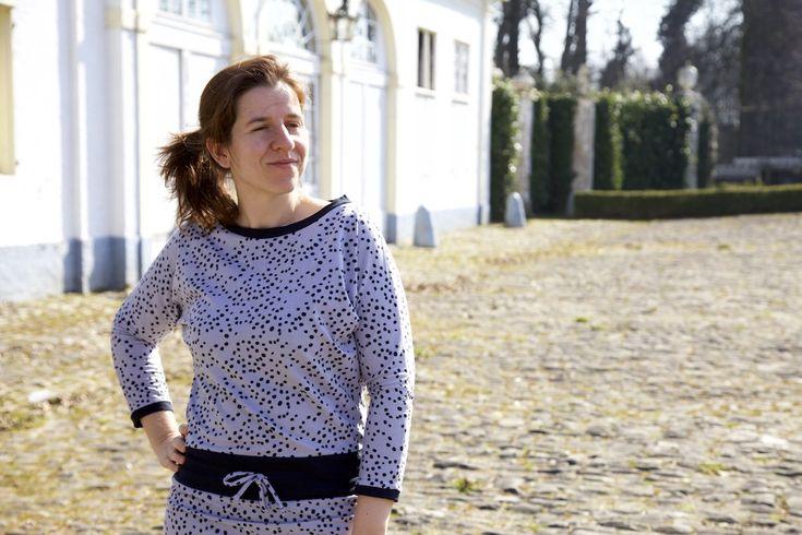 The Julia dress for women   free tutorial   free new pattern piece!