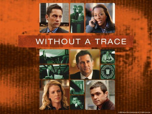 Without a Trace (2002-2009) TV Crime Drama  6.9    Anthony LaPaglia, Poppy Montgomery, Marianne Jean-Baptiste, Enrique Murciano. The cases of an FBI unit specializing in missing persons investigations.