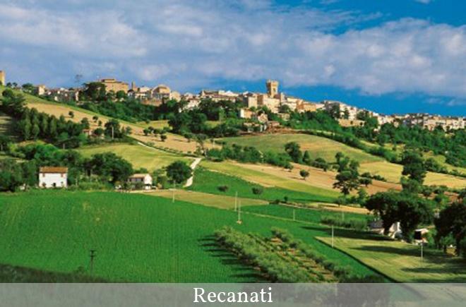 Recanati..the city of Giacomo Leopardi!
