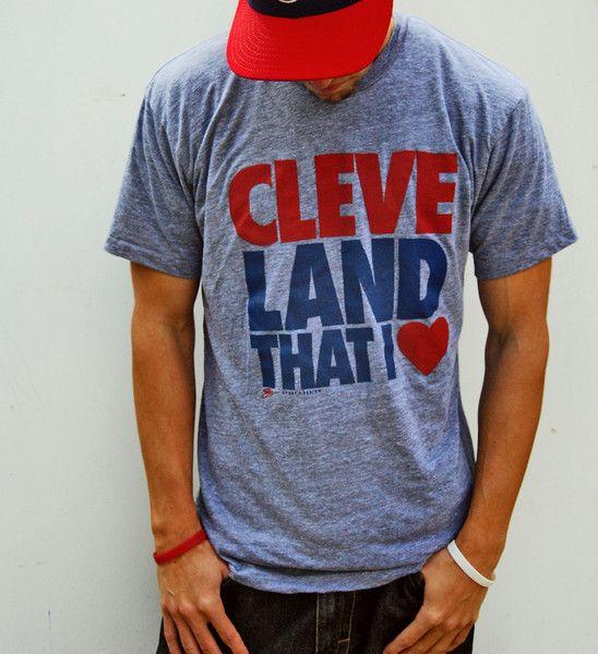Cleveland T Shirt - Land That I Love - Grey