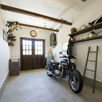 バイクガレージ/ジャストの家
