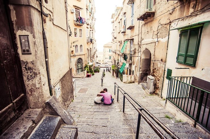 Pre wedding in Italy – Engagement photography Max and Marina