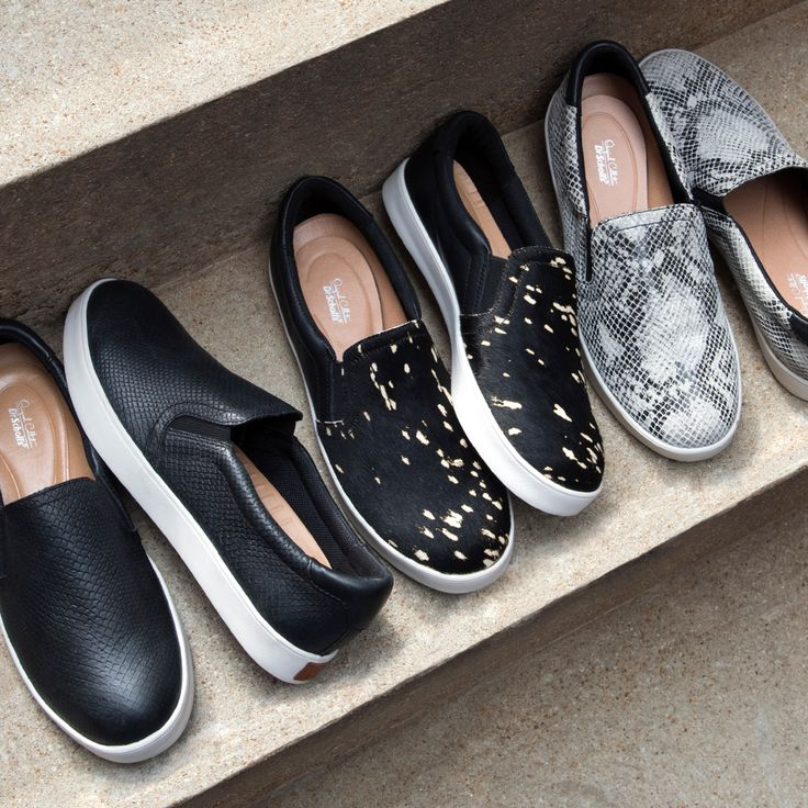 Loved by bloggers and celebs, the Scout slip-on is a year-round favorite. #drschollsshoes #slipon #sliponsneakers