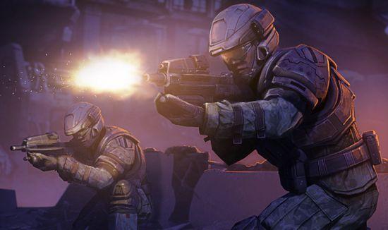 Halo: Spartan Assault Artwork (UNSC Marines)