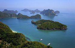 Ang Thong National Marine Park in Thailand