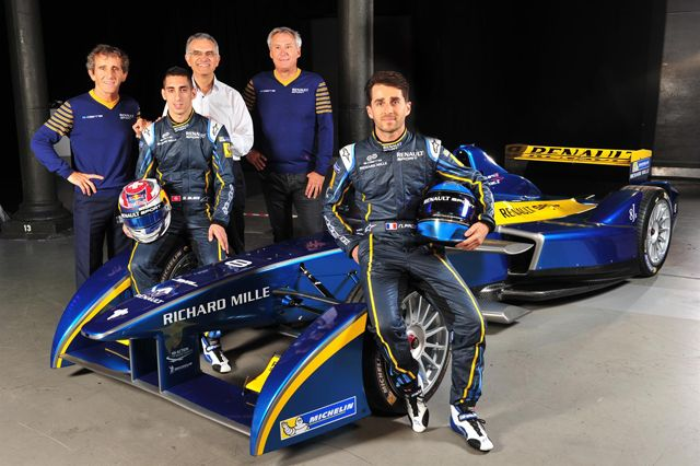 Richard Mille - Partner of the E.Dams-Renault single-seater, electrically-powered motor-racing team