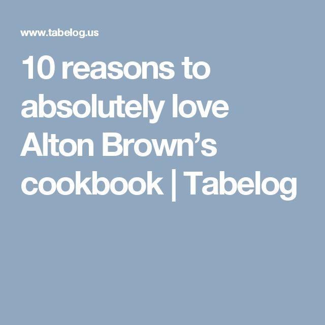 Mejores 26 imgenes de food network stuff en pinterest alton brown 10 reasons to absolutely love alton browns cookbook tabelog forumfinder Images