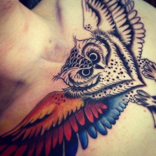 #owl #tatto #co...