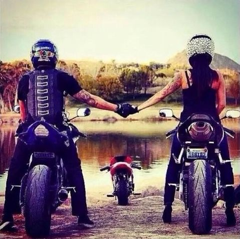 Untitled cute,  #couple,  baby -  love -  #motorcycle