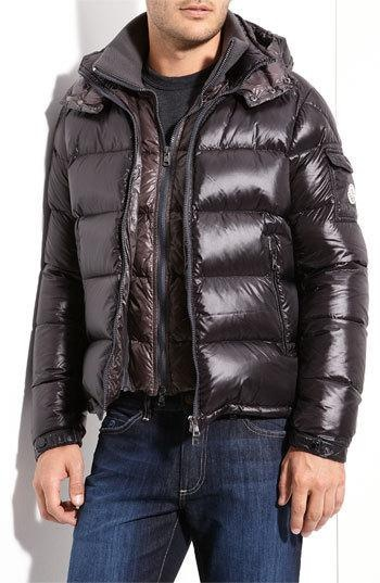 Moncler 'Zin ' Quilted Down Jacket | Jackets, Shiny jacket ...