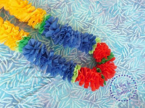 Collar Hawaiano Hawaian Lei #DIY