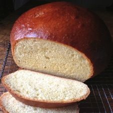 "Portuguese Sweet Bread: King Arthur Flour // ""This soft, sweet bread, subtly flavored with both lemon and vanilla, makes delicious toast (or French toast). Or enjoy it plain; it's so tasty, it doesn't even need butter. By the way, if you're looking for a recipe for 'Hawaiian bread,' this one comes very close."""