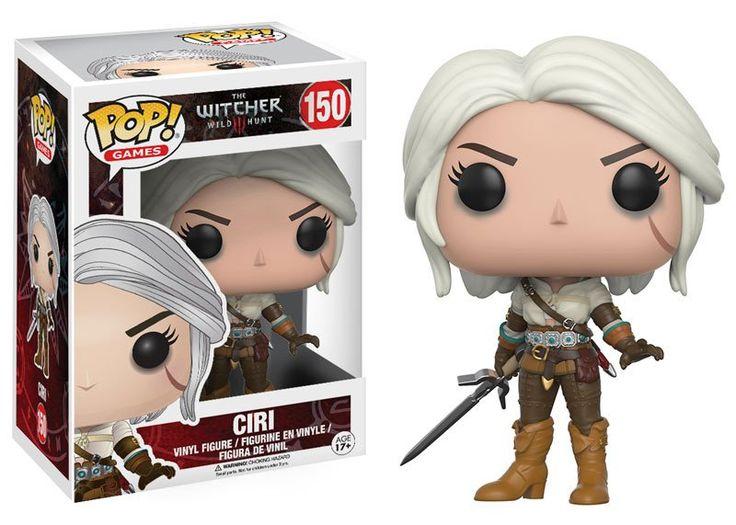 Pop! Games: The Witcher 3: Wild Hunt - Ciri