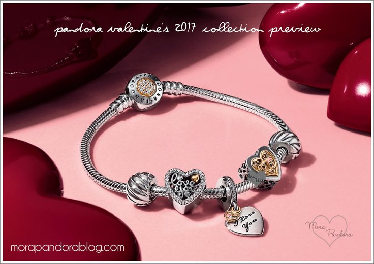 Pandora Valentine's Day 2017 Collection Updates (with previously unseen charms & jewellery!)