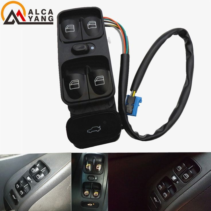 Big discount US $16.77  A2038200110 NEW Power Control Window Switch For MERCEDES C CLASS W203 C180 C200 C220 2038210679 A2038210679