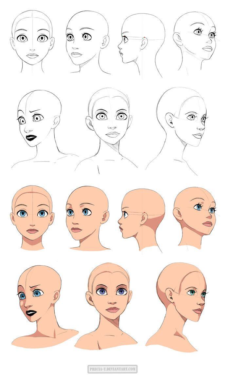 disney style head tutorials