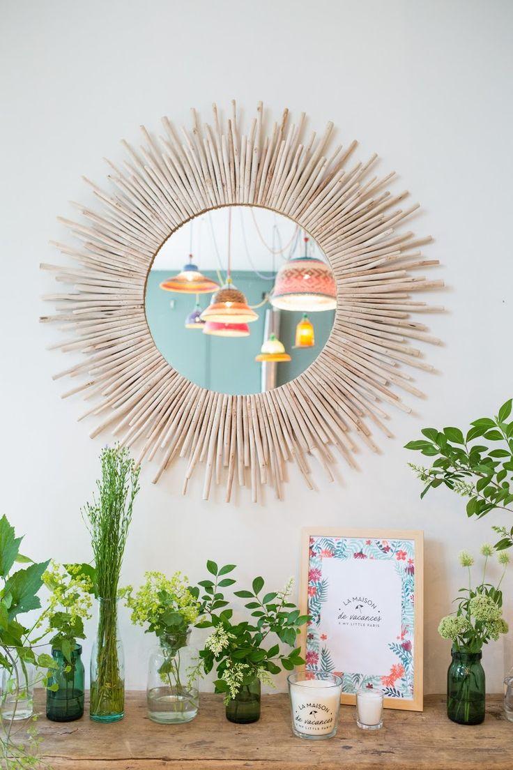 Miroir rond KAMPAR  via Goodmoods