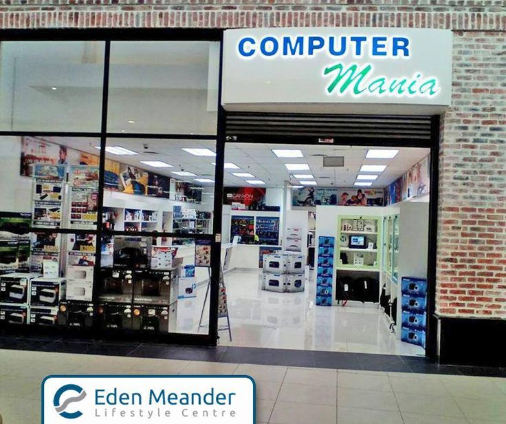 Visit #ComputerMania at the #EdenMeanderLifestyleCentre for quality and affordable computer solutions.