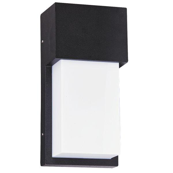 Zewnętrzna LAMPA ścienna LEEDS 8197 Rabalux KINKIET ogrodowy OPRAWA elewacyjna outdoor czarny