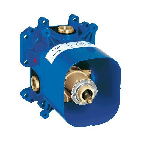 GROHE - RAPIDO E - Mitigeur - Encastrable - Limiteur de débit - 35501000 - Plomberie sanitaire chauffage