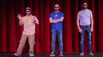 Tri tvorivé tvory v Kasárňach/Kulturparku 2 - YouTube