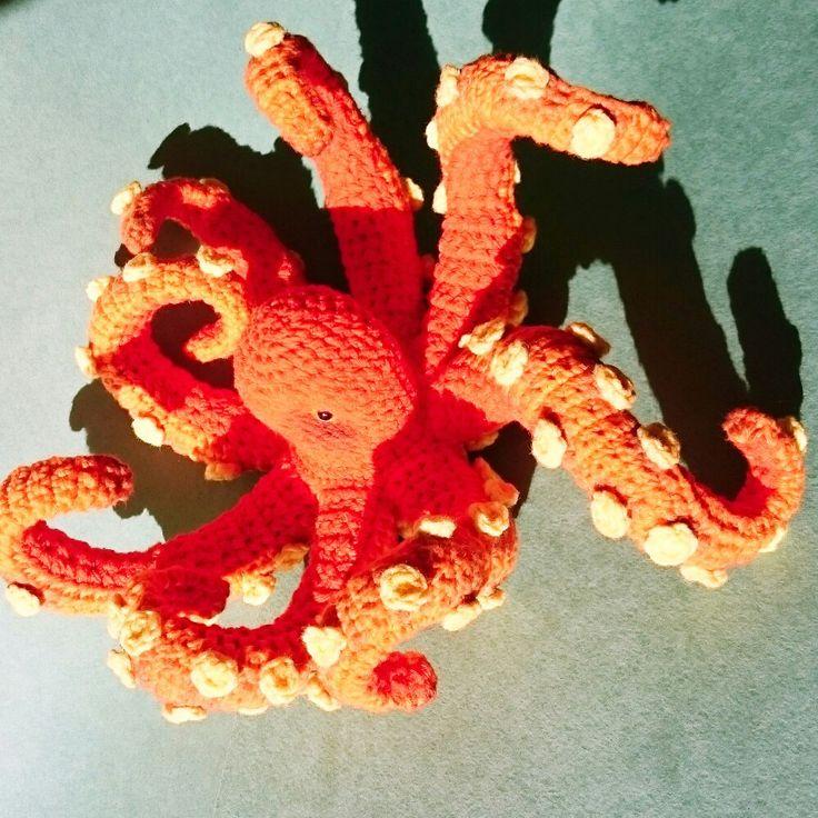 #octopus #ocean #Crochettiky #toy