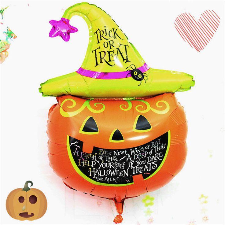 Buy Halloween Pumpkin Head Decorative Foil Balloons Party Nice Decorationfor R140.00