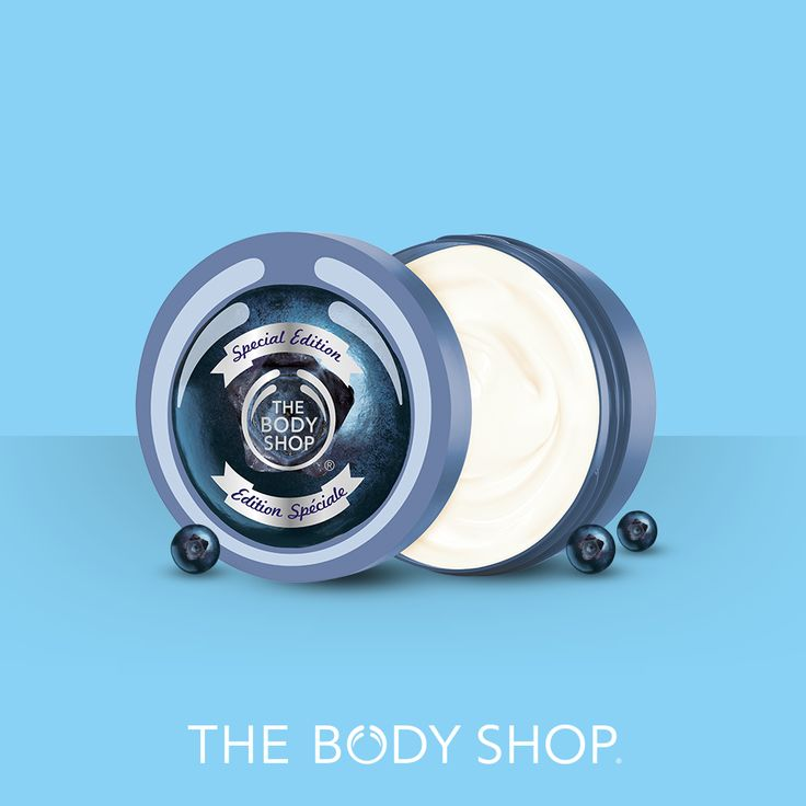 Summer time? Pop some blueberries while you can! Our Special Edition original Body Butter is such a treat.
