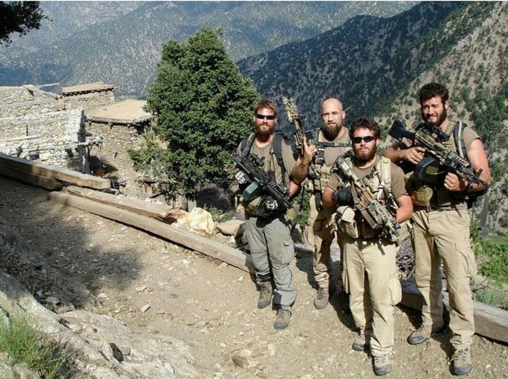 Dany p. Dietz Matthew g. Alxelson and two other men of SEAL team 10 who were KIA during operation Red Wings (resubmitted) [1075x804]