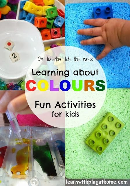 colour activities for kids - Colour Activities For Kids