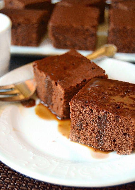 Dolci a go go: Torta ciocco moka con glassa al caramello e caffè