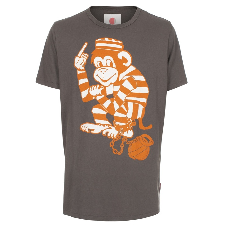 Paul smith t shirts grey regular fit cheeky monkey for Newspaper t shirt designs