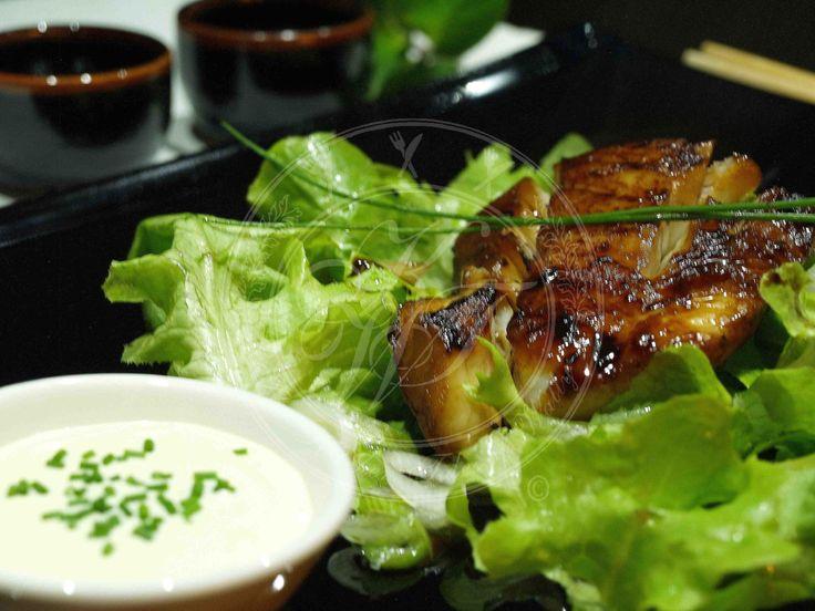 Merluzzo teriyaki con maionese allo zenzero fresco, una ricetta fusion giapponese