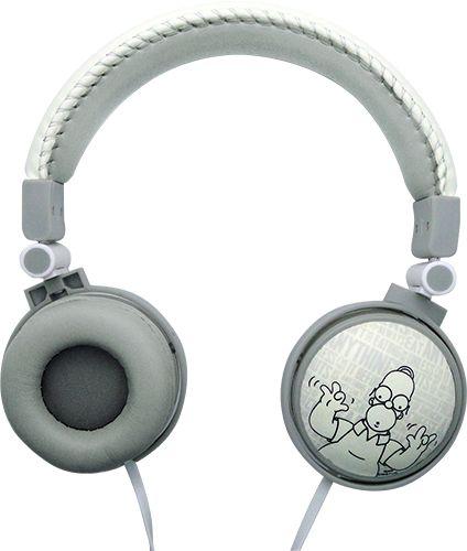 Fone de Ouvido Supra-Auricular Com Microfone iwill The Simpsons Homer Branco
