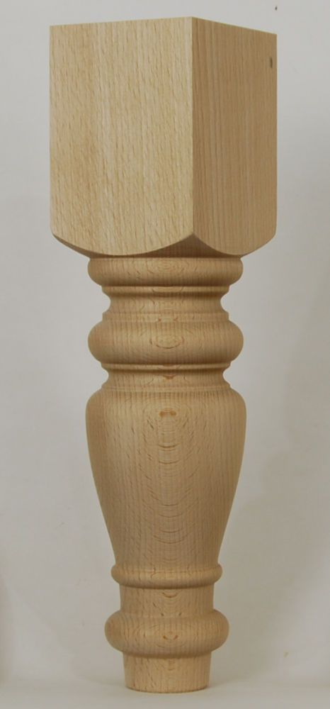 "4 LARGE FOOTSTOOL LEGS  300mm (12""), TURNED COFFEE TABLE LEGS, UNPOLISHED E808 #EdinburghWoodturning"