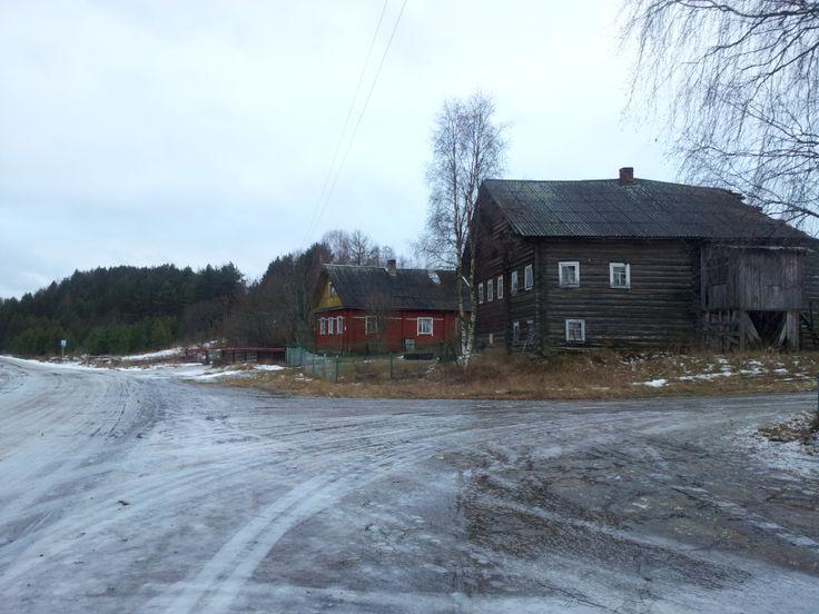 Rybcheila Village - traditional Karelian village