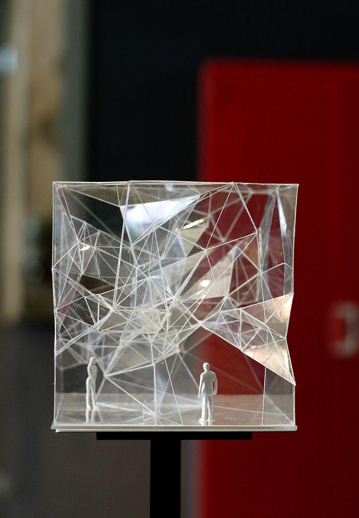 Architecture as Forest, exhibition model  Sou Fujimoto Architects