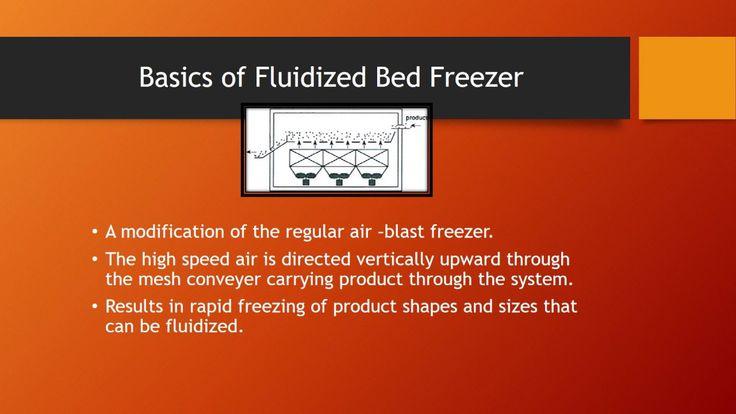 Fluidized Bed Freezer Video