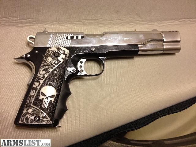 .45 1911 Llama Custom Punisher | Zombie Defense Institute ...