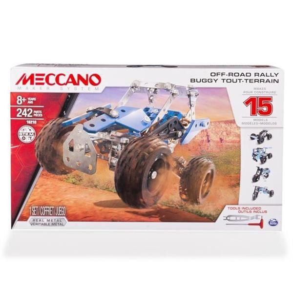 Meccano Core - MULTI zestaw 15 modeli - pojazd terenowy